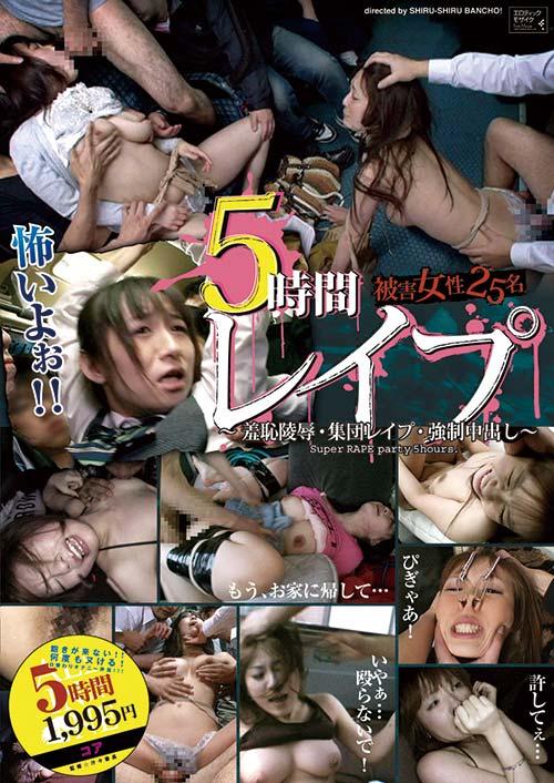 ALD533 | 5時間 レイプ 被害女性25名 ~羞恥陵辱・集団レイプ・強制中出し~