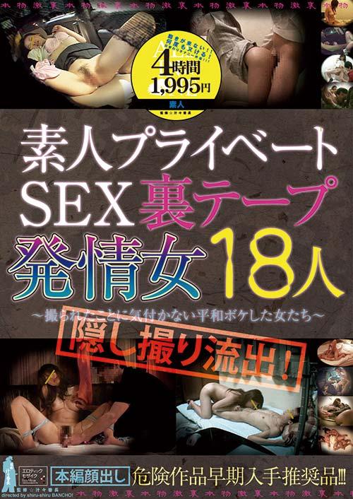 ALD573 | 隠し撮り流出! 素人プライベートSEX裏テープ 発情女 18人 ~撮られたことに気付かない平和ボケした女たち~